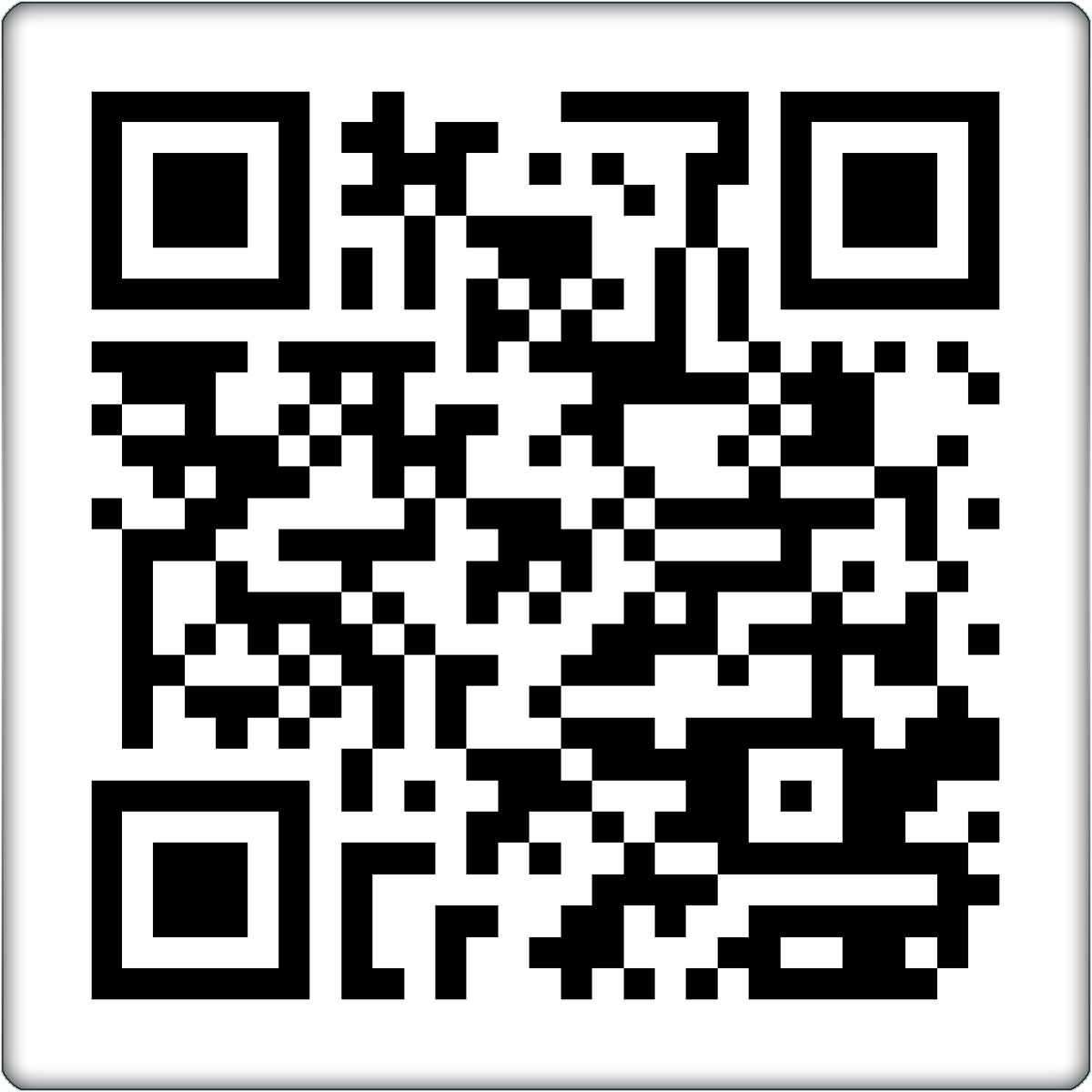 qr code aufkleber konturgeschnitten zum scannen ebay. Black Bedroom Furniture Sets. Home Design Ideas